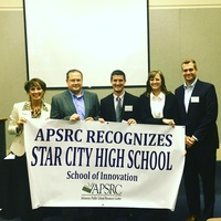 Star​ ​City​ ​High​ ​School​ ​receives $35,000​ ​grant​ ​from​ ​APSRC