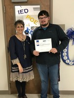 SCHS Senior Recognized by AP+PLTW