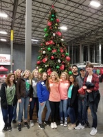 SCHS HOSA Club Participates in Operation Christmas Child
