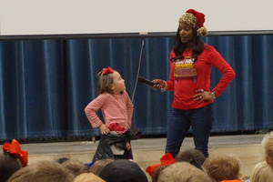 JBE Hosts Energy Bus Pep Rally