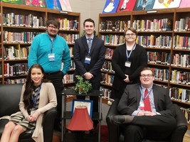 SCHS FBLA Competes at District