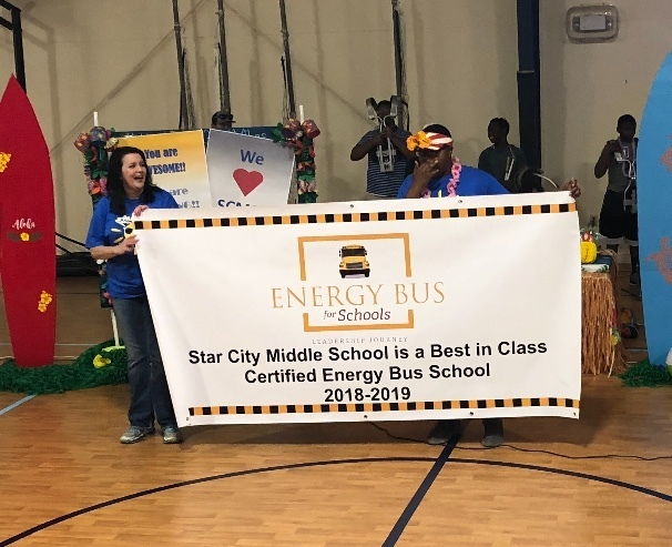 SCMS Named Energy Bus Best In Class Certified School