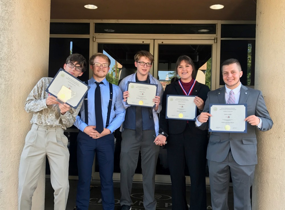 Star City JAG Students Shine at State Level