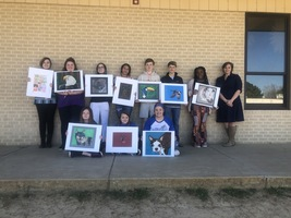 Star City Middle School Students Artwork Selected for Southeast Arkansas Regional Art Competition