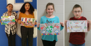 Star City School District Students Place in Youth Art Month Contest