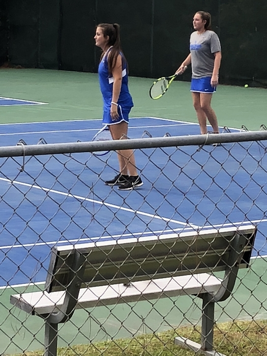 Tennis action from Monticello!