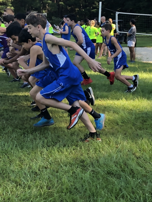 Jr Boys X country at Moro Bay.