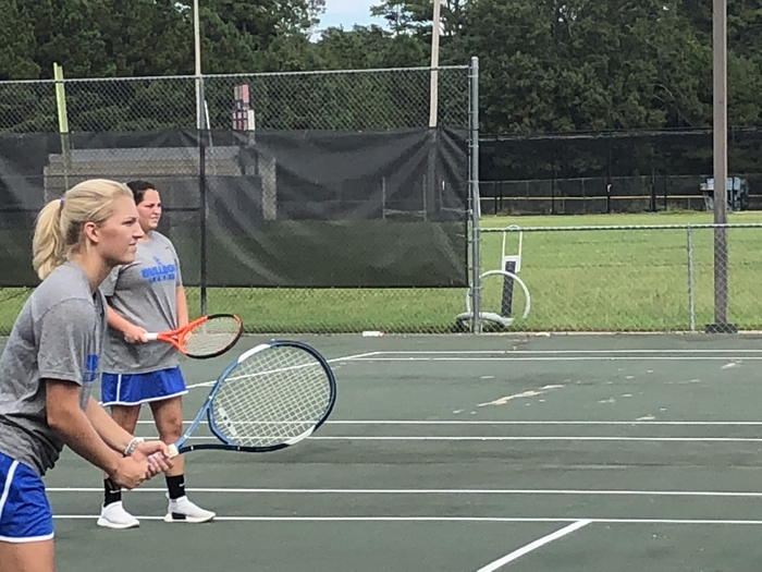 Girls doubles teams keep winning!