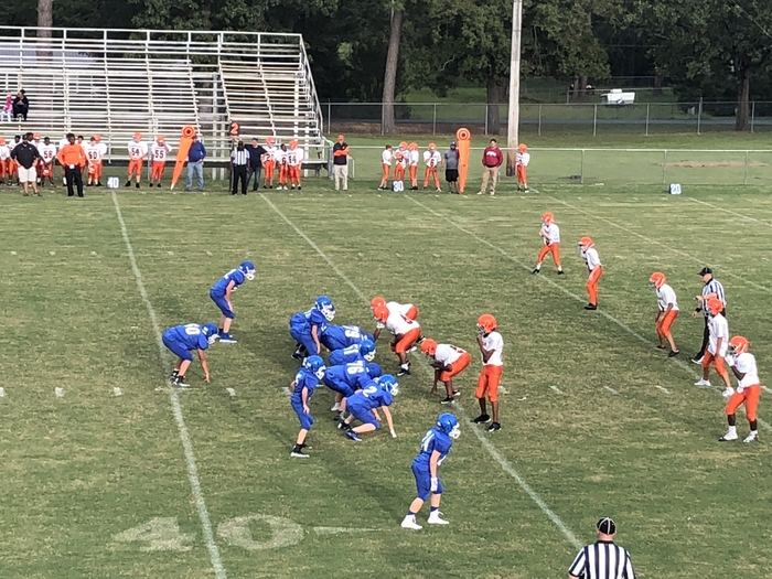 7th grade battling the Lumberjacks!
