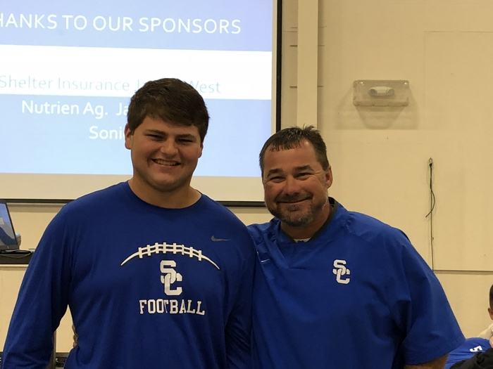 Logan Robertson was Offensive Lineman of the Week!