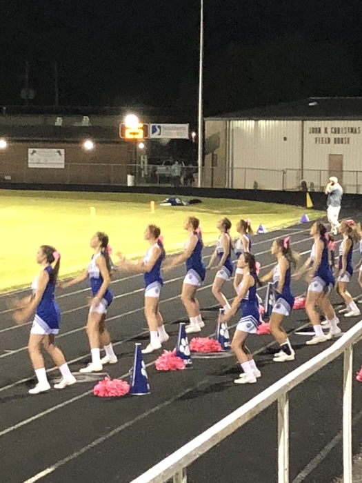 Bullpup Cheerleaders!