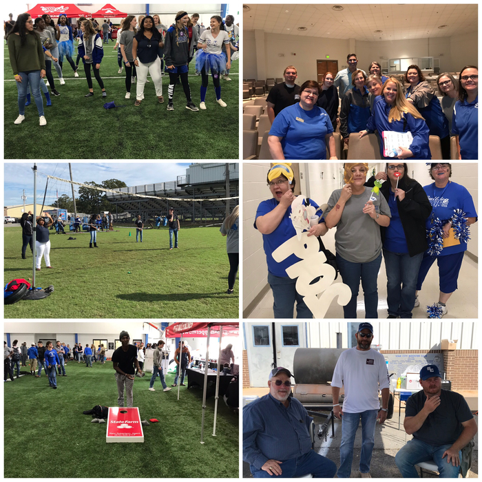 Tailgating fun @SCHS #HOCO 2018.  Thanks to everyone who made it a success. @enerybusschools #2ms