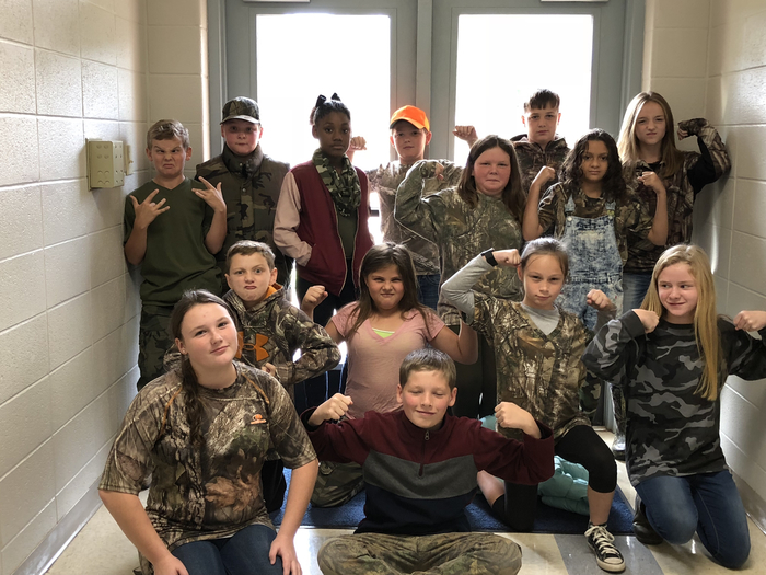 Camo day at JBE