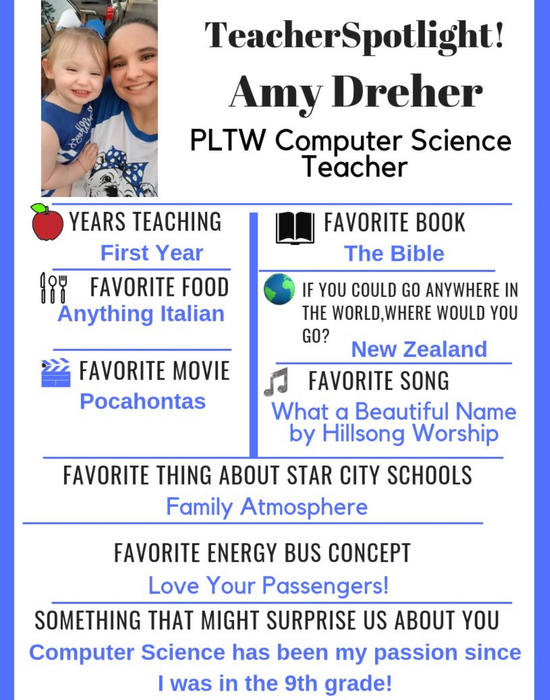SCHS teacher spotlight