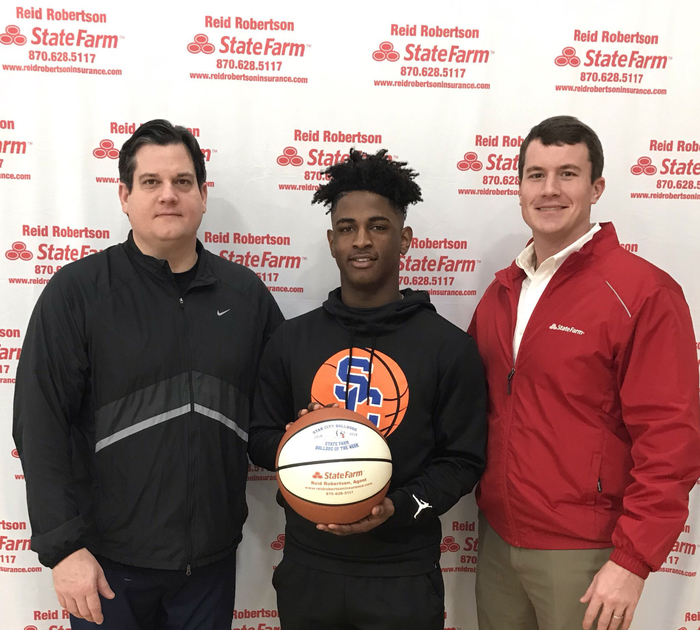Congrats to Marvion Scott for being selected as State Farm Player Of The Week! Marvion had 17 pts in our road game against Magnolia.Marvion also had 4 rebounds and was 4-4 from the line !!