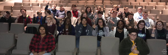 "These SCHS students received a ""Virtually Unstoppable"" wristband for working hard and showing growth in their virtual classes! Thanks for all the hard work of Carolyn Parnell and Julie Giacamino; without your support and guidance these virtual programs wouldn't  be so successful. #VirtuallyUnstoppable"