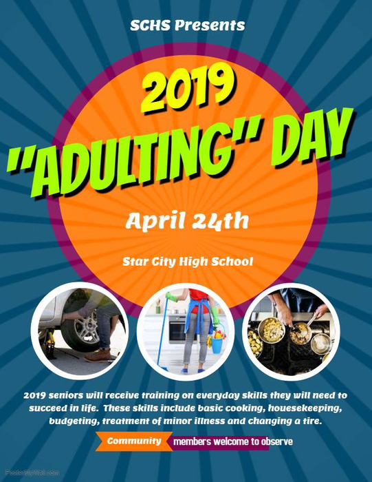 """Adulting"" Day"