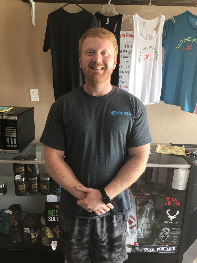 Thanks to AllTime Fittness 24/7 for partnering with SCHS to help support our teachers! Corey Dial donated 2 free memberships to be given away at staff Professional Development!