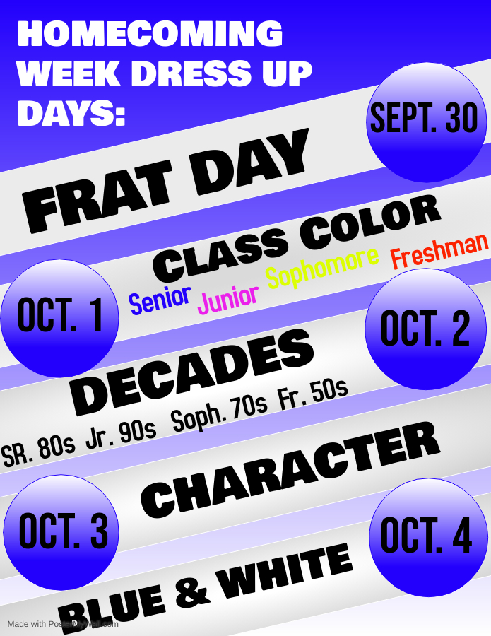 Dress Up Days