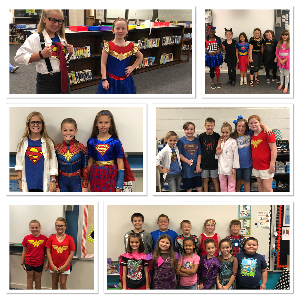 Courageous Superheroes!