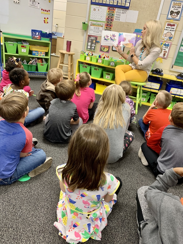 Kindergarten learns about bullying.