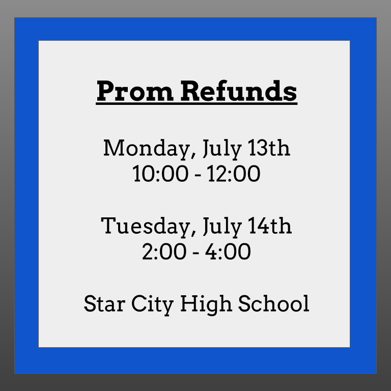prom refunds